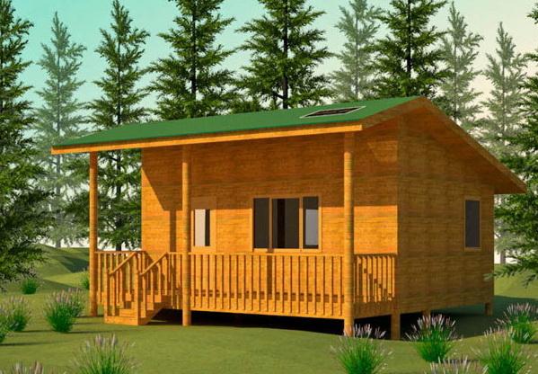 Строительство летнего домика