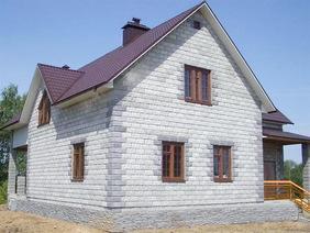 Дом 9х9 одноэтажный из пеноблоков